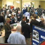 Visitors mingle with businesses during the Waterbury Regional Chamber of Commerce's annual Chamber Business Expo last year. This year's expo will be held April 4. –CONTRIBUTED