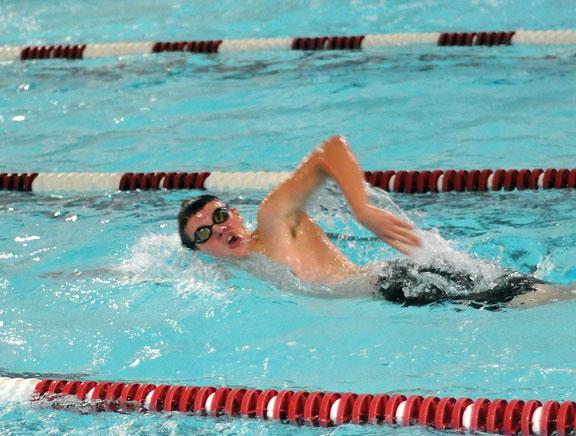 Greyhounds swim to fourth at NVLs