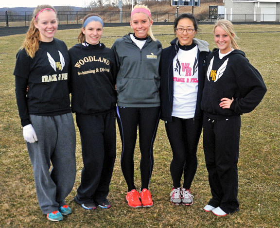 Woodland out to defend track titles