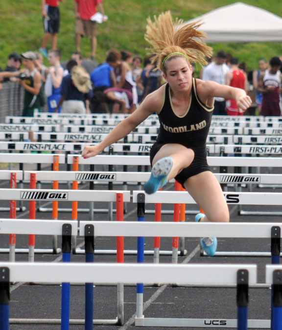Woodland girls claim all titles