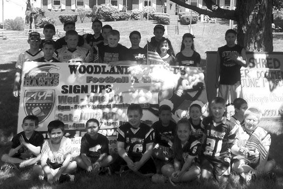 Woodland JR Hawks holding sign-ups
