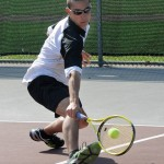 Woodland's Kyle Beynor, the defending NVL singles champion, has helped lead the Hawks to two straight NVL titles. –FILE PHOTO