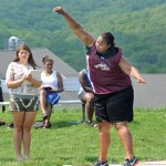 Naugatuck's Brianna Ritter advanced to the girls State Open in the throwing events. –FILE PHOTO