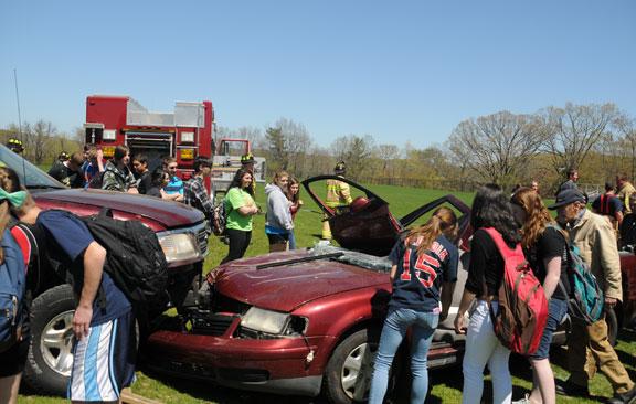 WRHS mock crash