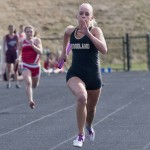 Woodland's Tayler Boncal finished fifth in the 400 at the Class M track and field meet May 29. The girls team finished 14th overall with 16 points. –RA ARCHIVE