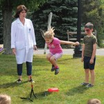 Prospect Mayor Robert Chatfield's annual Fun Week kicked off Aug. 19 with science lessons from Mad Science and face painting on the Town Green. The week featured different events every day for children. The fun week is a tradition to celebrate the end of summer. –LUKE MARSHALL