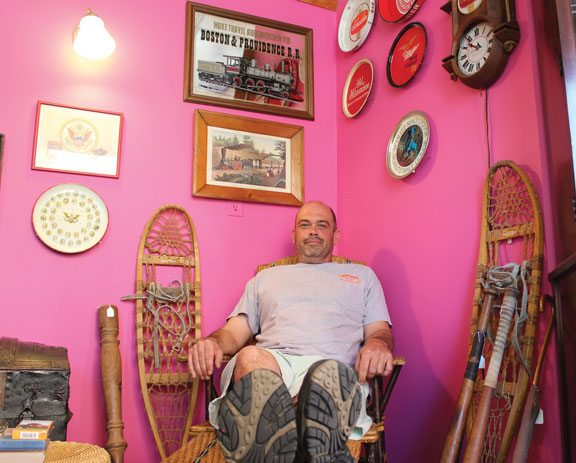 Borough man finds calling in consignment