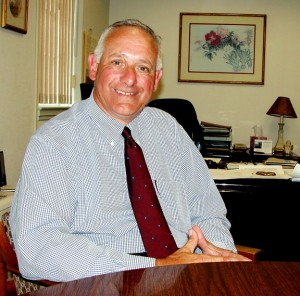 Naugatuck Economic Development Corporation CEO and President Ronald Pugliese is recipient of the Naugatuck Chamber of Commerce's 93rd annual Lewis A. Dibble Award. –CONTRIBUTED