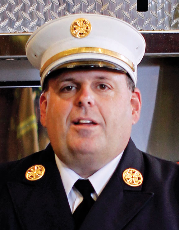 Fire chief to be honored by state Exchange Club