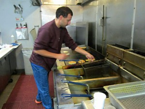 James Ayash is closing his restaurant, Ayash-Man Express Food Restaurant on Rubber Avenue in Naugatuck, after Nov. 2. –RA ARCHIVE