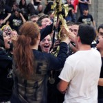 Naugatuck and Woodland high schools held pep rallies Nov. 27 to culminate spirit week at the schools. PHOTOS BY ELIO GUGLIOTTI AND LUKE MARSHALL