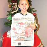Jack Bshara, of Beacon Falls, Citizen's News annual Christmas coloring contest in the 6- to 8-year-old age group. –LUKE MARSHALL