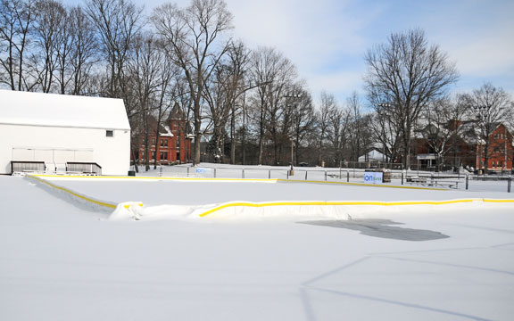 Rink ready to open