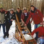 "Boy Scout Troop 102, of Naugatuck, recently participated in the Klondike Derby held at Camp Mattatuck in Plymouth, where the troop received a fourth-place trophy in the senior patrol division. The annual event mimics the Klondike gold rush, and is intended to test the scouts' outdoor skills, leadership and teamwork as they earn ""gold nuggets"" at various stations throughout the woods. Pictured, from left, are Javon Brady, Jesse Bronko, Ethan Maxwell, Nick Hanks, Russ Andrew and CJ Werner.   –CONTRIBUTED"