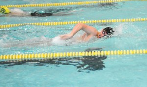 Woodland's Andy O'Dell will look to add to his resume as the Hawks swim in the NVL meet this week. –FILE PHOTO