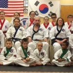 Pereira's Academy of Karate in Bethany held a promotion ceremony Feb. 24. Students from Prospect, Naugatuck and Beacon Falls were among those promoted. -CONTRIBUTED