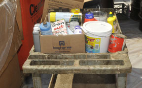 Hazardous waste, paint to be collected