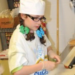 The Sodexo Future Chefs competition was held March 26 at Naugatuck High School. The competition featured five fourth-graders who made healthy sandwiches. The sandwiches were judged by Assistant Superintendent of Schools Christopher Montini, Board of Education Vice Chairwoman Dorothy Neth-Kunin, Assistant Business Manager Bernice Rizk and Diane Nardelli of Nardelli's Grinder Shoppe. Maple Hill Elementary School fourth-grader Cayla Howard won the competition with her sandwich, The Health Factor. The sandwich featured chicken on Ciabatta bread with, pesto spread, spinach, Swiss and Feta cheese. Her sandwich will be featured on the school's lunch menu as well as Nardelli's menu. For each sandwich sold at Nardelli's $1 will be donated to the culinary department at Naugatuck High School. The other contestants were Kalangi Pedro with her Tuna Salad Sandwich, Samantha Mullin with her Sam's Turkey Meatball Sub, Nadia Cestari with her Quesadilla Wrap and Mia Grella with her Italian CMT. –LUKE MARSHALL
