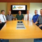 The Prospect Business Association recently elected its board of directors, from left, Secretary Tammy Enquist, Treasurer Joe Corona, board member Mark Mosher, President Matt Buonaiuto, board member Jeff Holley, Vice President of Membership Dave Jones and Vice President of Marketing Technology Rob Edwards. –CONTRIBUTED