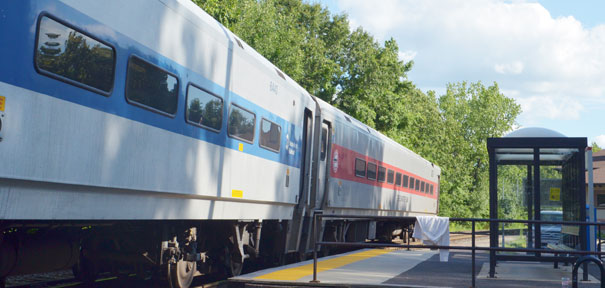 Waterbury line gets new train