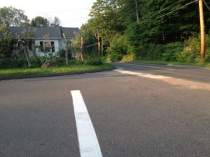 This intersection at the corner of Straitsville Road and Porter Hill Road in Prospect is where an 84-year-old Prospect man died in a car accident in July. –RA ARCHIVE