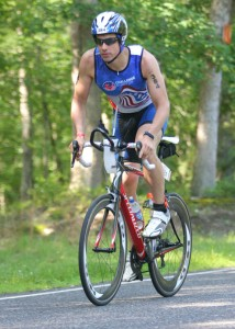 Brendan Heller completed the Challenge Atlantic Ironman on June 29. – CONTRIBUTED