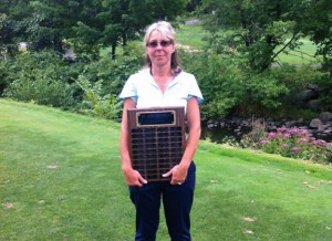 Stephanie Slekis won the Hop Brook Golf Course Women's Club Championship Aug. 3. Slekis defeated Anne Thomas in the 18-hole final to claim the title. –CONTRIBUTED