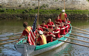 Teen rows for U.S. team