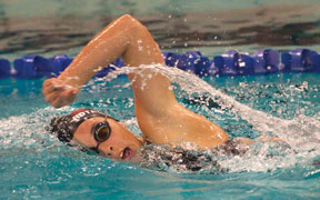 Naugy swims to 14th at states