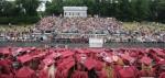 Graduation moving back to high school
