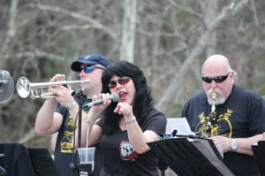 Members of the Rubber City Blues Band perform last year at the annual beacon falls River Fest. This year's festival is May 9. -FILE PHOTO