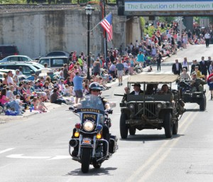 Naugatuck's annual Memorial Day parade steps off at 9:15 a.m. on Monday. –FILE PHOTO