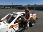 Good deed gets racer back on track