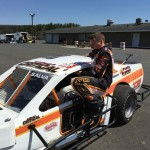 Prospect's Nick Salva got back on the race track following a recent wreck thanks to the help of a rival racer. –CONTRIBUTED