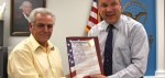 Sorrentino's service cause for recognition