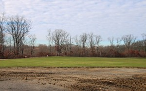 The borough is planning to build  athletic fields on this land off of Osborn Road and Wisteria Drive in the Apple Hill Estates subdivision. –LUKE MARSHALL