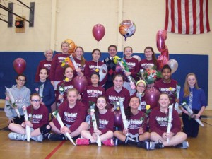 The City Hill Middle School girls basketball ended the season with a 14-3 record. –CONTRIBUTED
